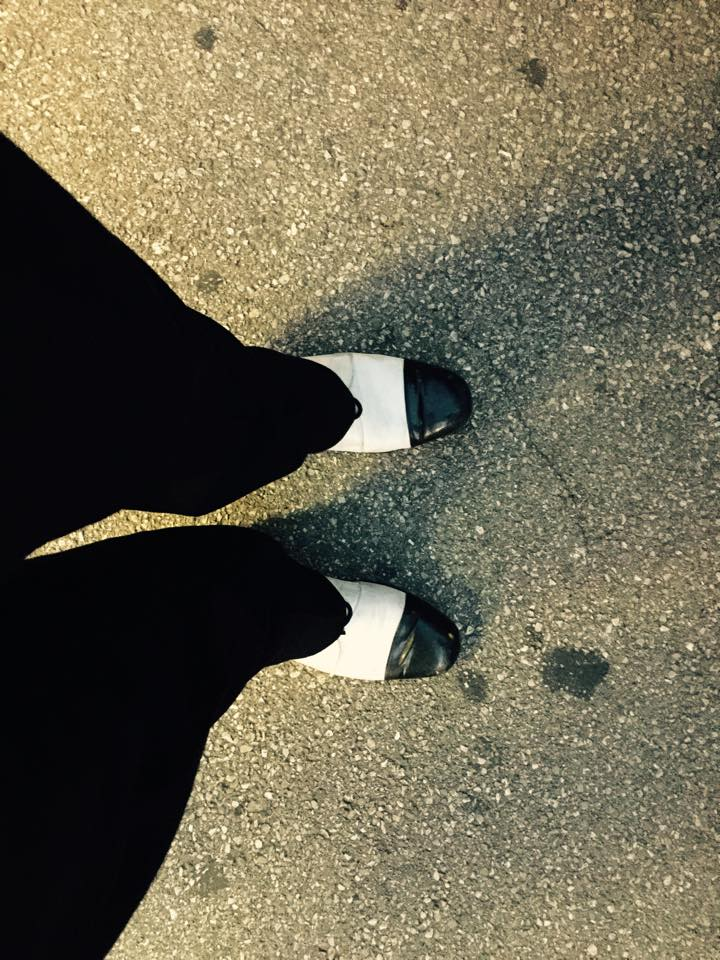 I Olja ima šmensi cipele.
