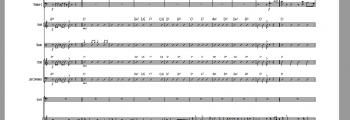 Ljeto 2015. Aranžiranje orkestra i raspis dionica.