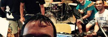 Lipanj 2015. prve probe benda za predstavu i snimanje songova